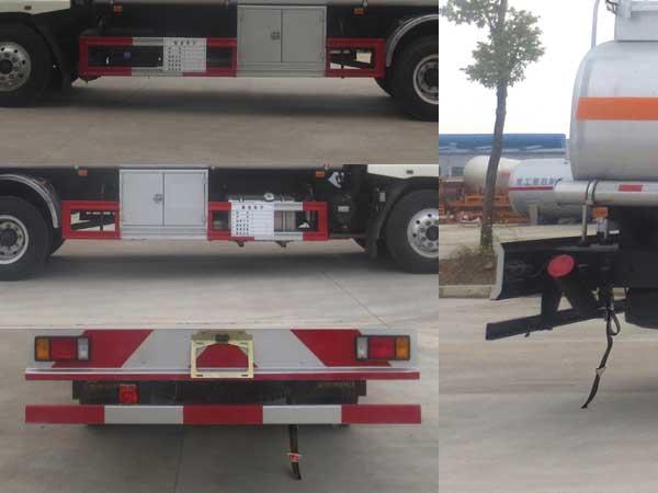 柳汽乘龙10吨加油车图片