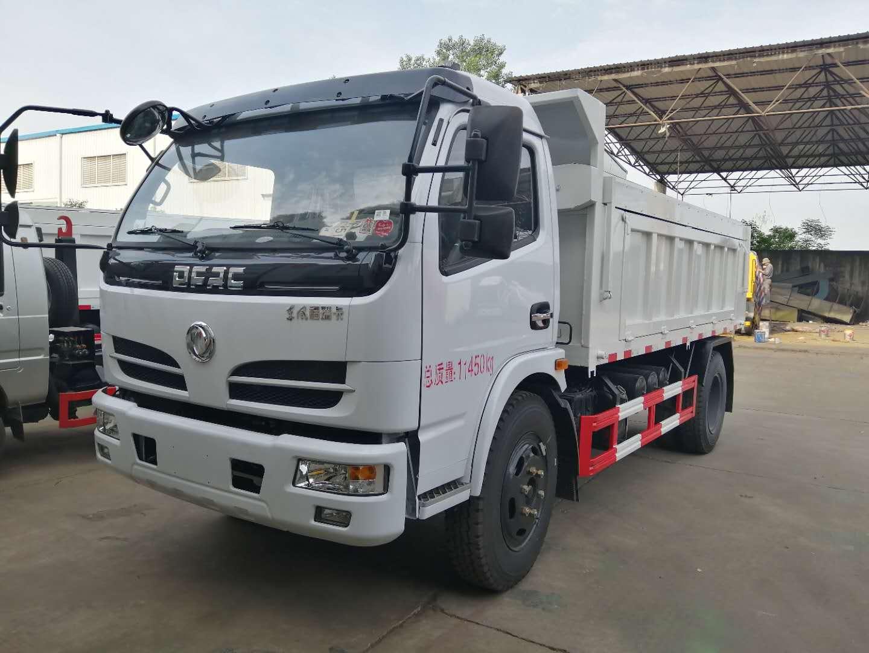 東風大多利卡六方自卸式垃圾車高清視頻