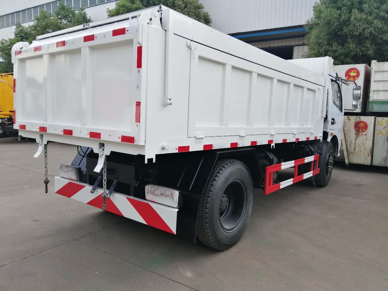 东风大多利卡自卸式垃圾车高清图片大全图片