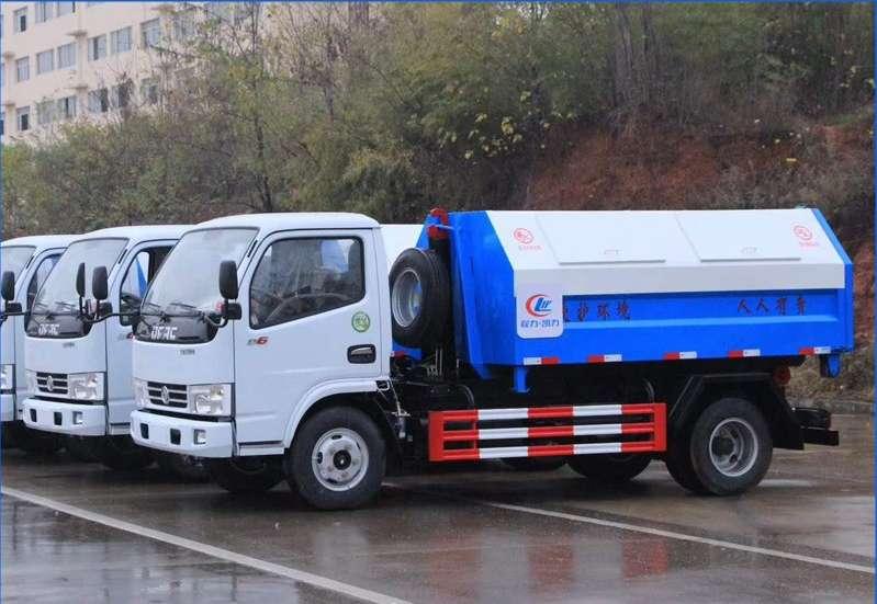 东风小多利卡5方勾臂垃圾车(全柴115)图片