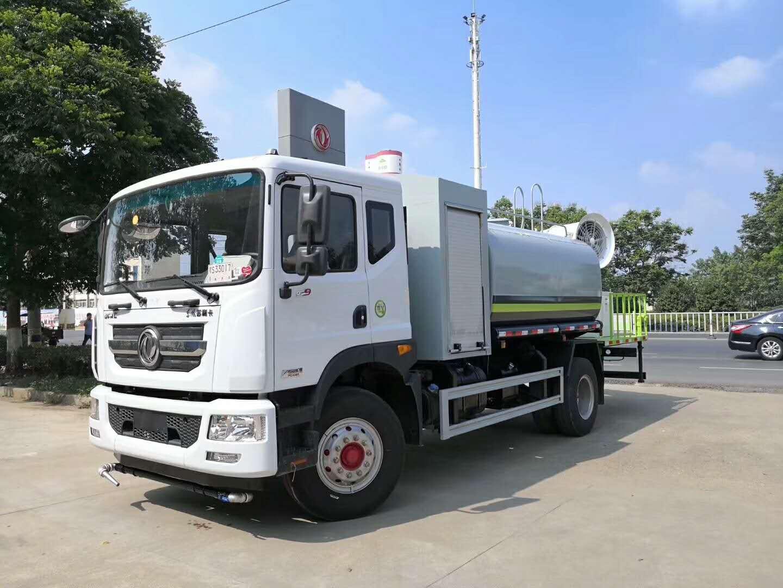 徐州沛县12吨15吨东风牌抑尘车雾炮车厂家最新批发价多少钱