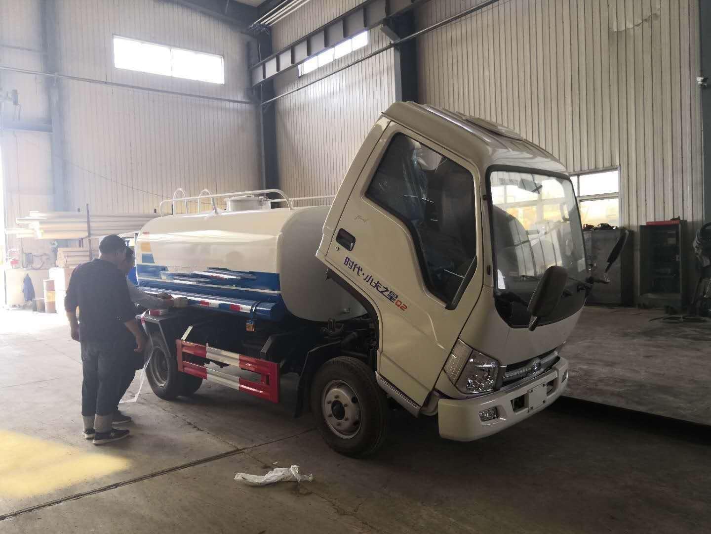 福田小卡3吨洒水车不上户价格超低