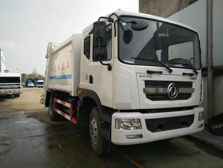 東風12噸壓縮垃圾車圖片