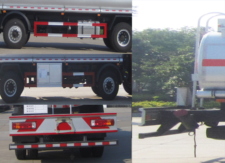 福田欧曼20吨加油车图片