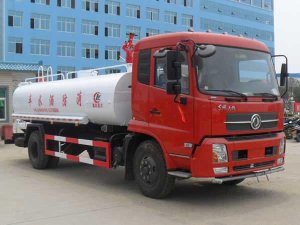 东风T天锦10吨消防洒水车