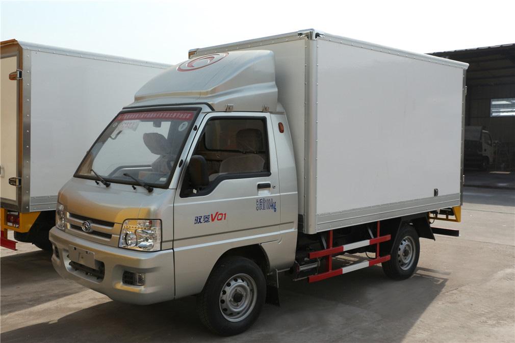 福田驭菱CLW5030XLCB5冷藏车全方位图