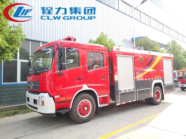 東風天錦6噸水罐消防車