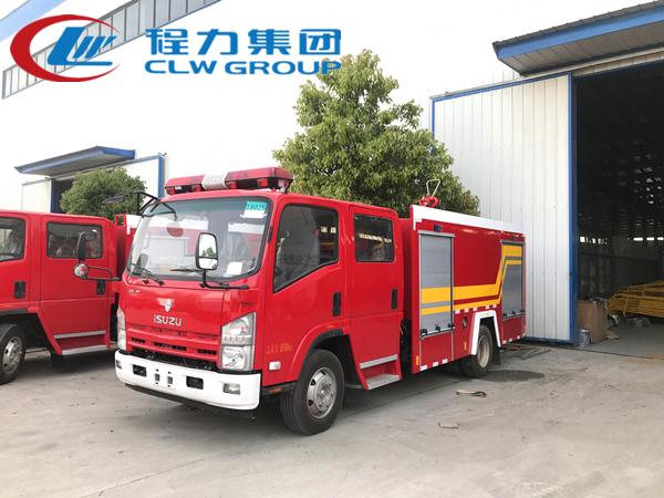 五十铃3.5吨水罐消防车