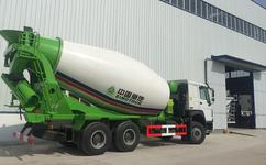 重汽豪沃水泥搅拌车15方罐最多能拉多少立方