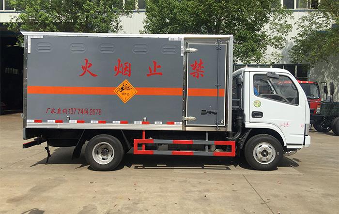 蓝牌东风爆破器材运输车