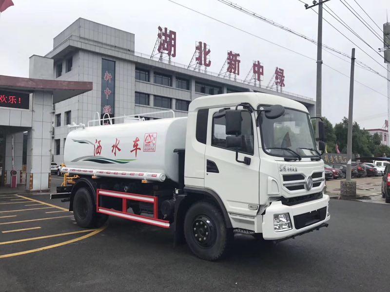 東風專底玉柴160馬力12噸灑水車