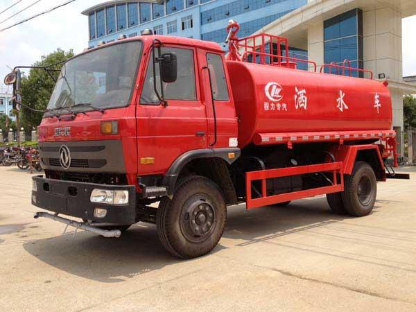 东风145/12吨消防洒水车