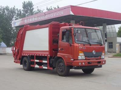 东风嘉运压缩式垃圾车