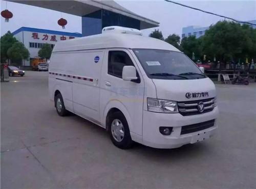福田G9柴油面包冷藏车