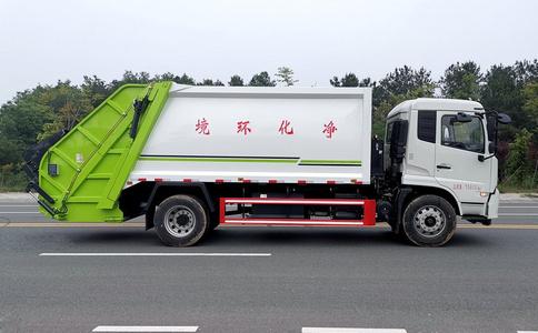 国五压缩垃圾车哪个牌子好,东风天锦压缩垃圾车是首选!