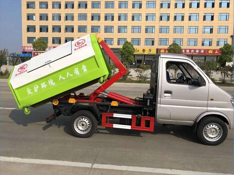 长安3方勾臂垃圾车