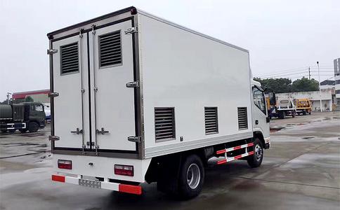 福田冷藏车视频