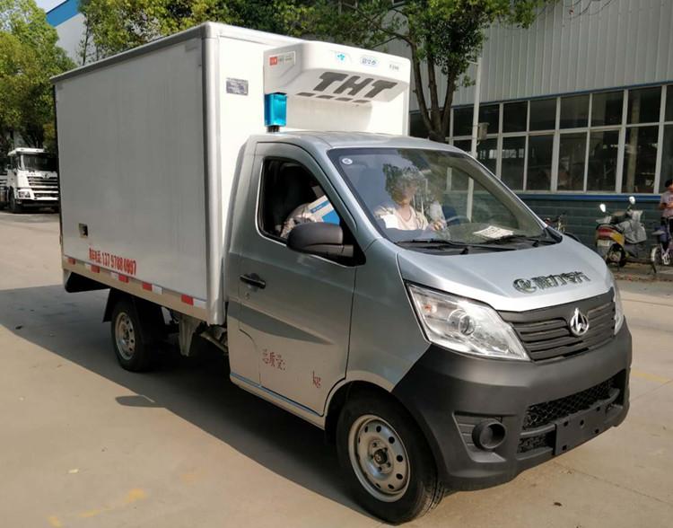 长安单排厢长2.68米汽油冷藏车