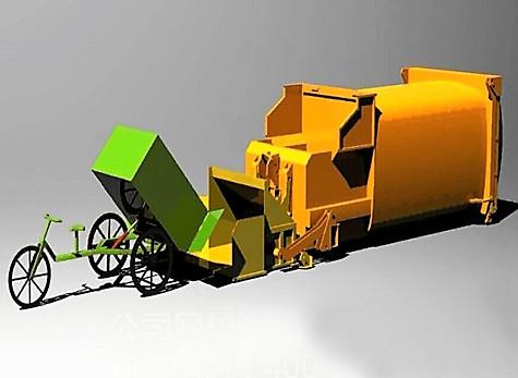 移动压缩垃圾箱图片构造 新中绿厂家销售 价格优惠图片