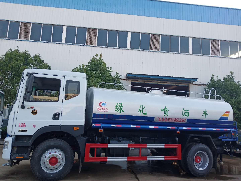 灑水車廠家直銷東風D9多利卡15噸灑水車
