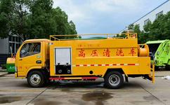 东风系列高压清洗车-管道疏通车多少钱图片