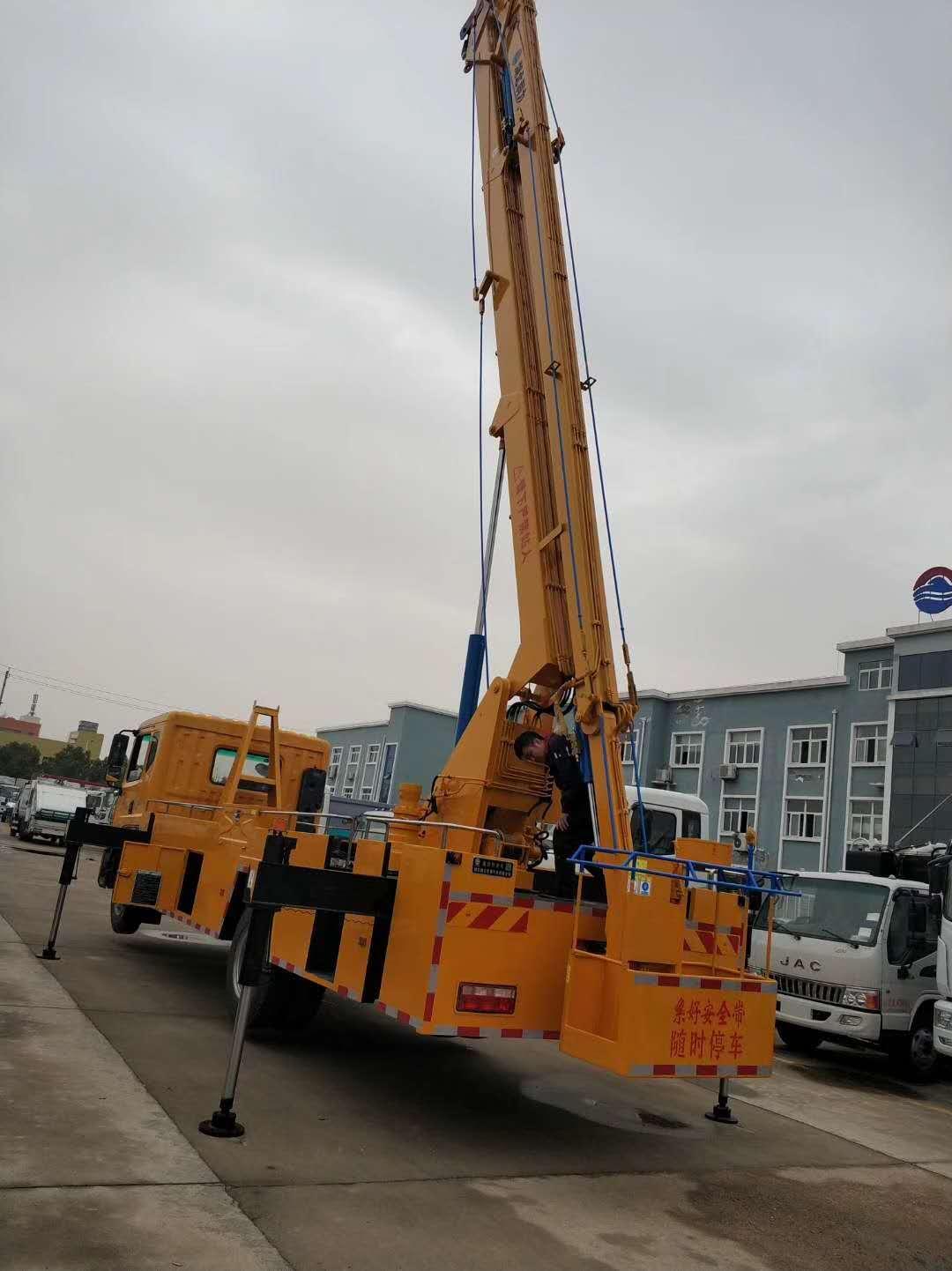 东风22米折臂高空作业车图片