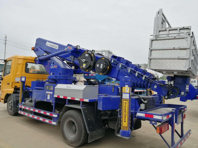 東風30米伸縮臂高空作業車