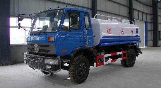 东风12吨145多功能绿化洒水车