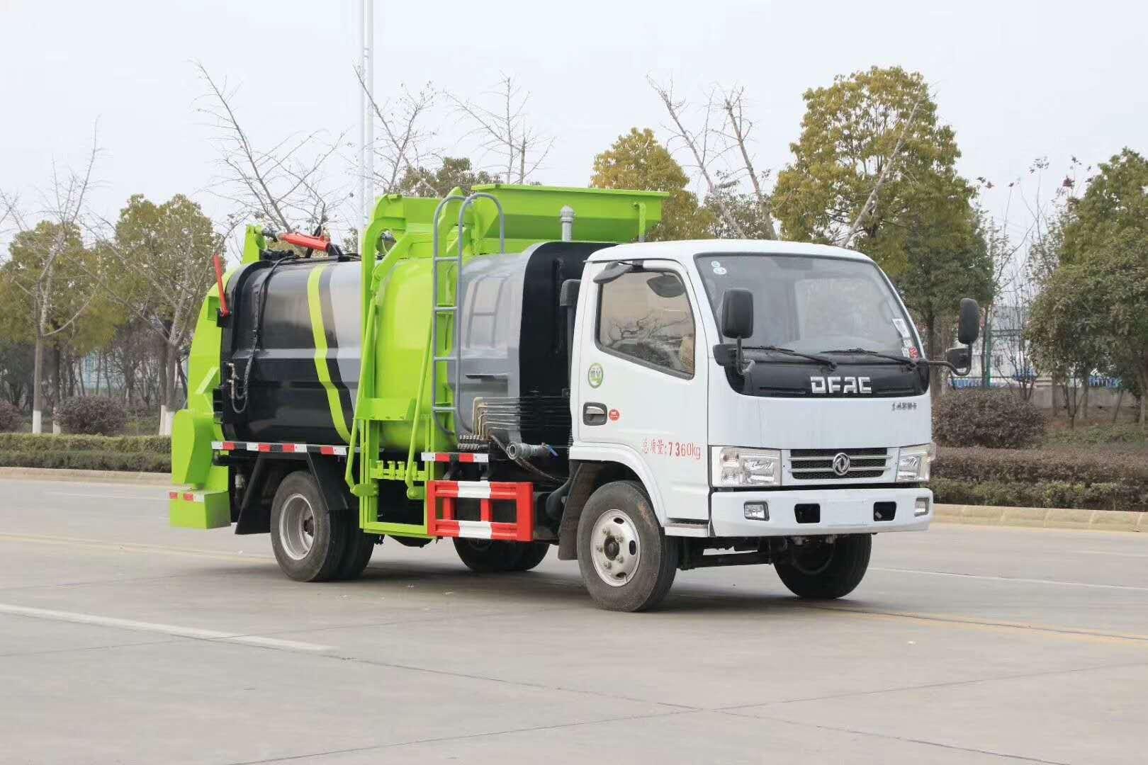 东风餐厨垃圾车厂家价格视频