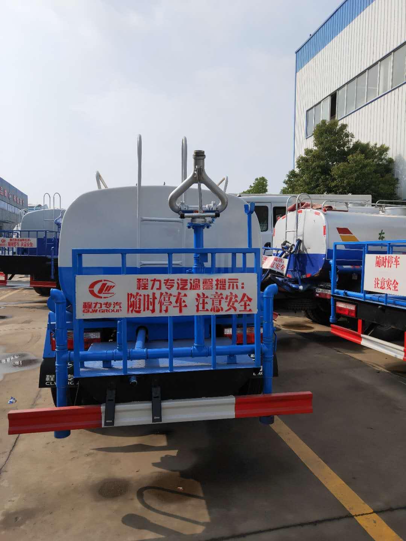 东风福瑞卡8吨洒水车图片