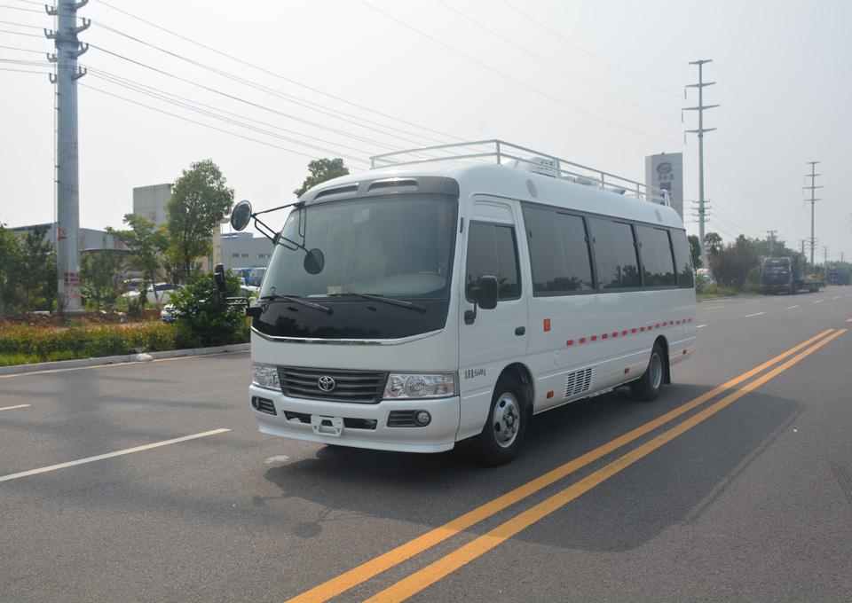 豐田考斯特檢測車
