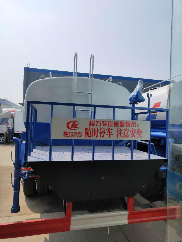 东风天锦15吨绿化洒水车图片