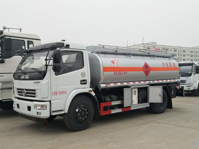 东风8吨油罐车图片图片