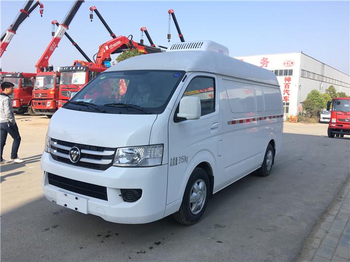 深圳福田面包冷藏车  牛奶运输车  超市冷冻食品专用车(图3)