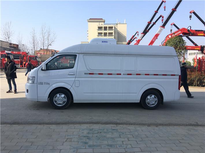 深圳福田面包冷藏车  牛奶运输车  超市冷冻食品专用车(图4)