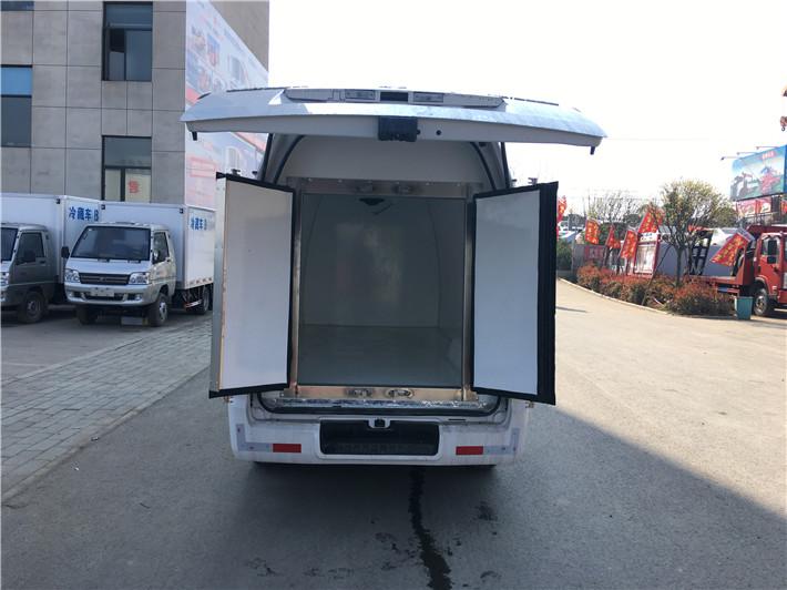 深圳福田面包冷藏车  牛奶运输车  超市冷冻食品专用车(图7)