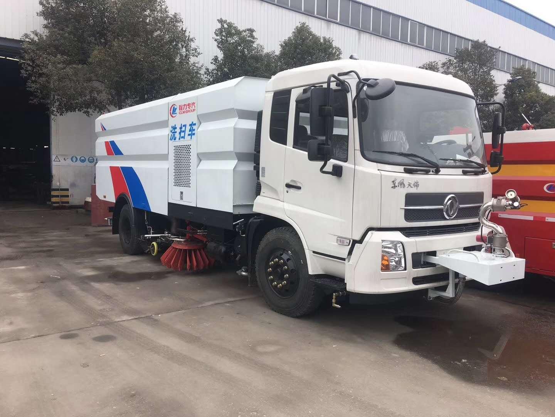 天錦10噸洗掃車,環衛公司的最愛圖片