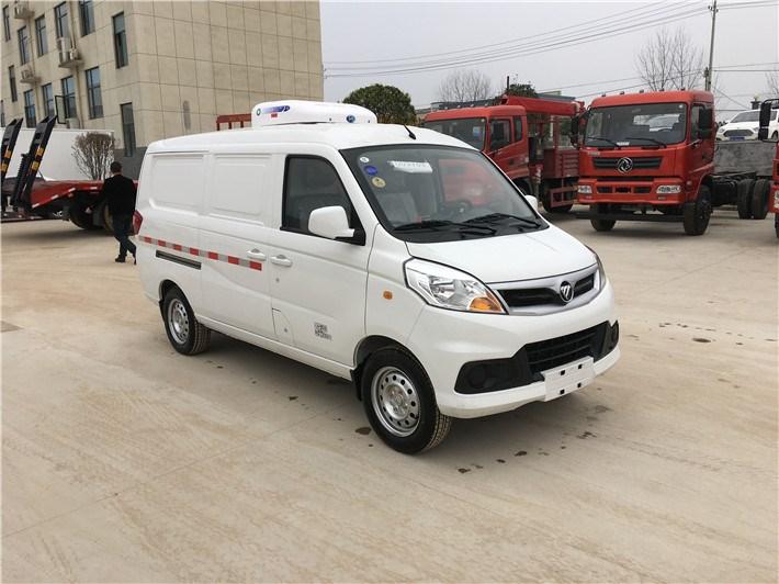 福田伽途V5面包冷藏车