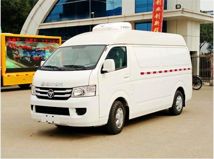福田G7双排面包冷藏车厂家直销价格配置怎么样