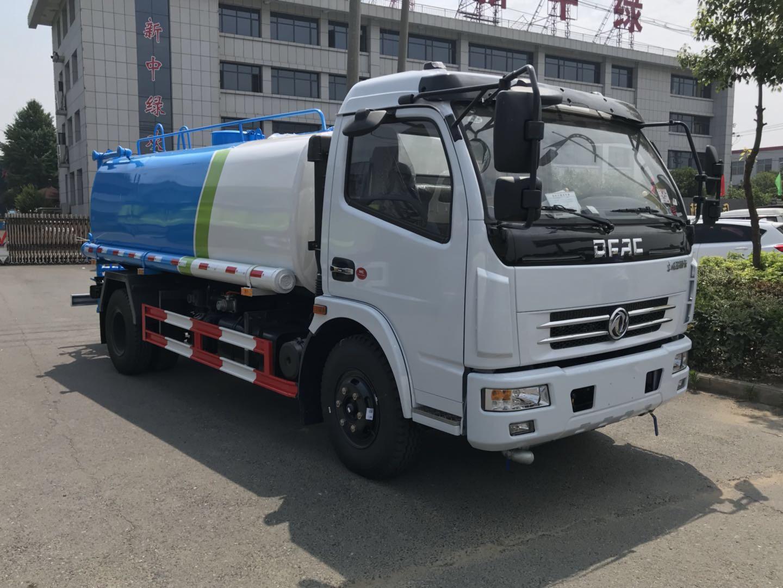 國五東風大多利卡8噸灑水車視頻!