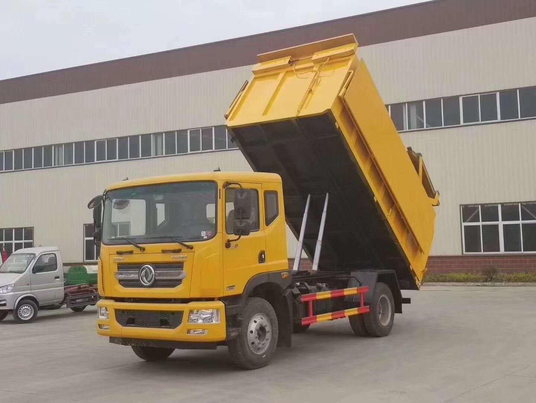 東風16方垃圾車,自卸垃圾車,中轉站可用圖片專汽詳情頁圖片