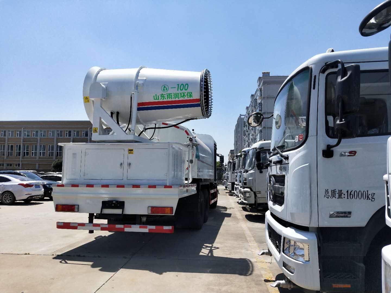12吨15吨100米东风后双桥大雾炮车厂家最新图片