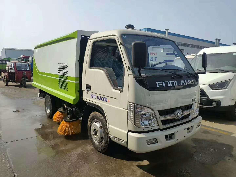 福田小型扫路车,市场上最小的扫路车