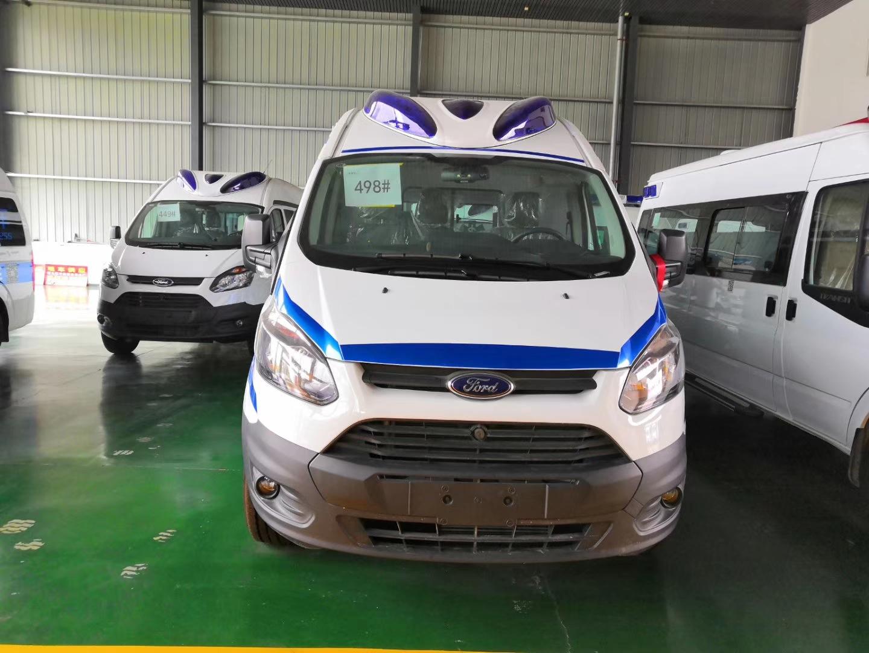 福特全顺v362汽油救护车图片图片