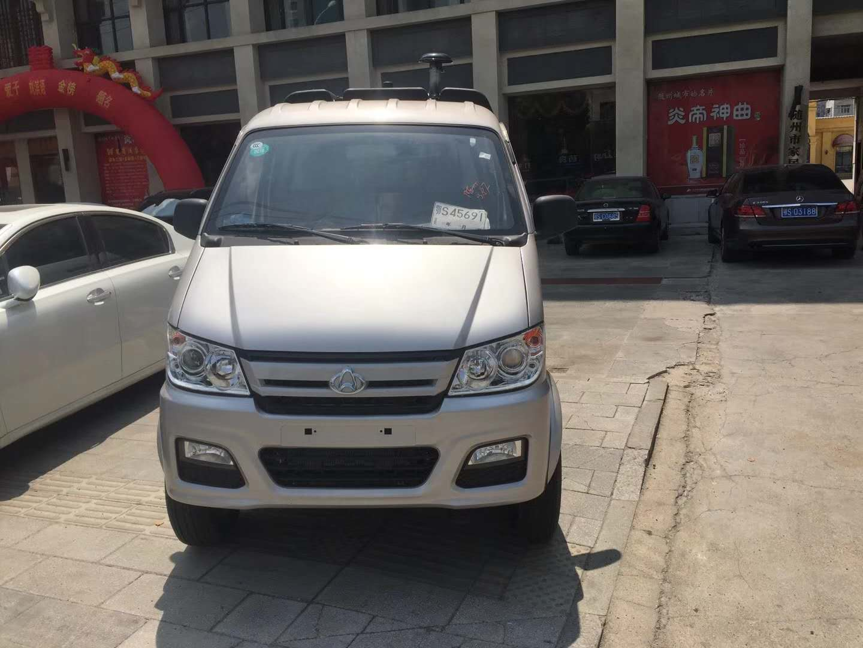 長安小型掃路車已經安全送到重慶客戶手里圖片