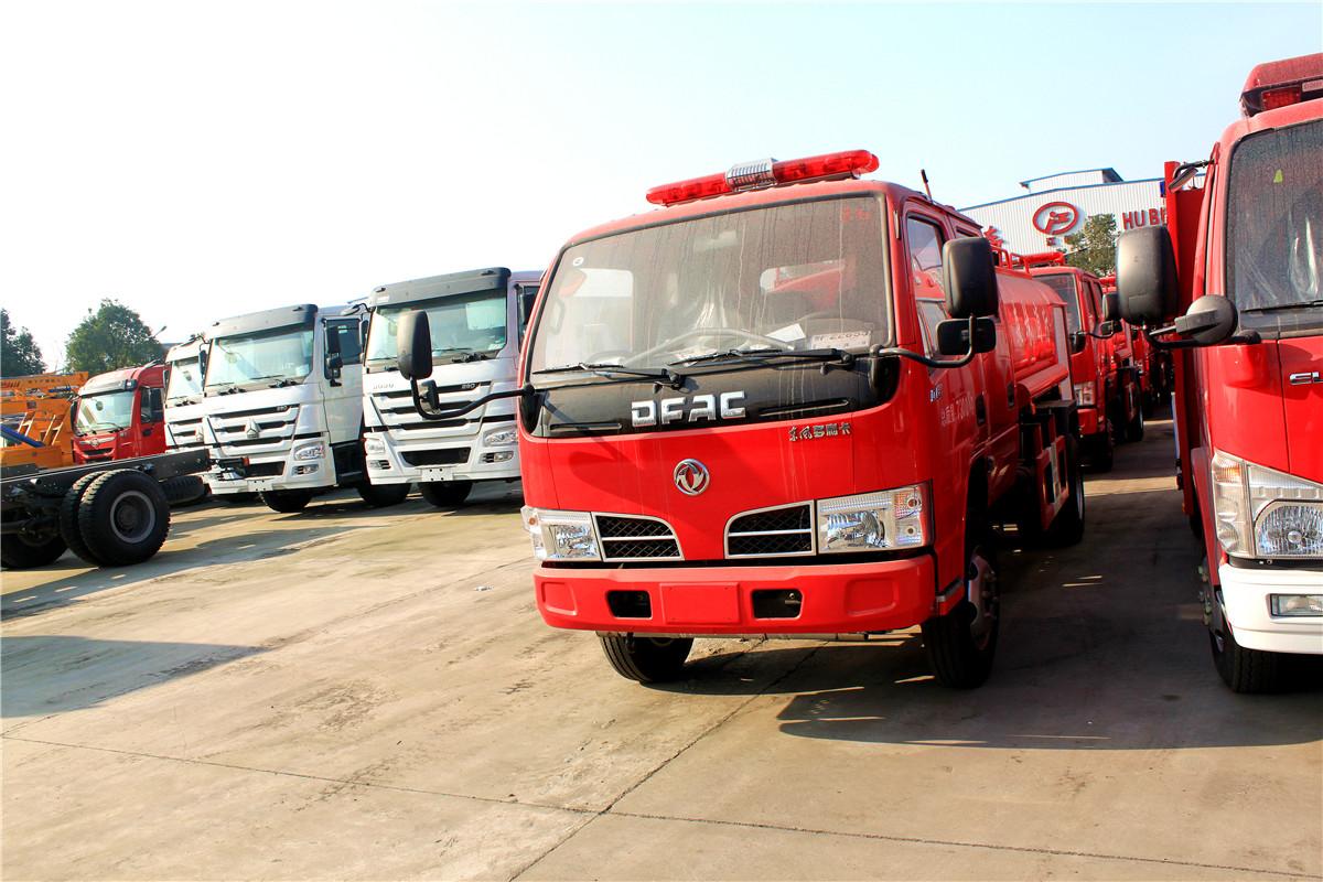 東風多利卡3.64噸單排消防灑水車