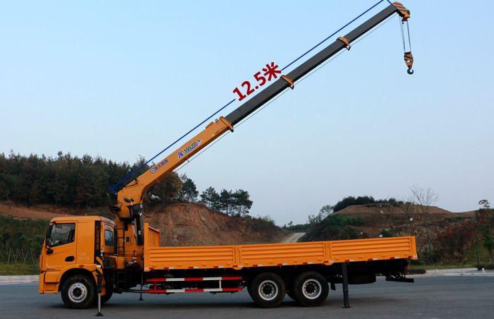 哪里有240马力后八轮徐工12吨加长臂随车吊厂家图片参数视频