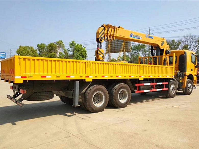 徐工汉风12吨双联泵随车吊 视频 图片 参数 价格