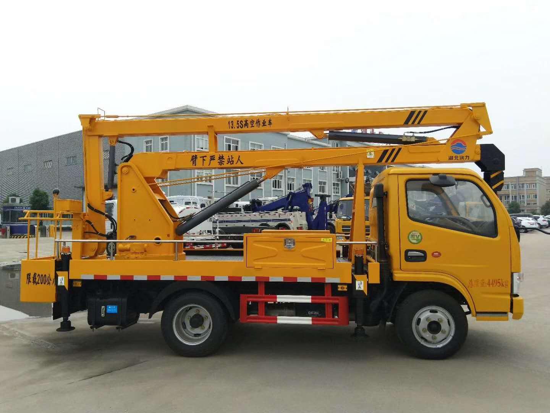 国五东风D6多利卡13.5米高空作业车图片