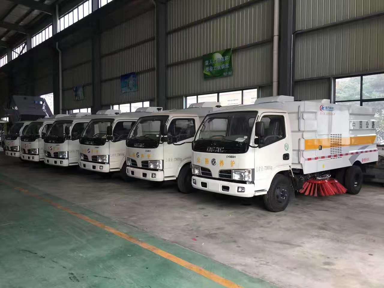 6臺東風3噸掃路車發車啦,感謝客戶信任圖片